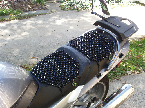Ultimate Motorcycle Seats >> Ultimate Beadrider Set Front Pillion Beadrider Beaded